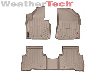 WeatherTech Floor Mats FloorLiner for Kia Sorento - 2014-2015 - Tan