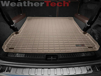 WeatherTech Cargo Liner Trunk Mat for Mercedes GL-Class/GLS-Class Large - Tan