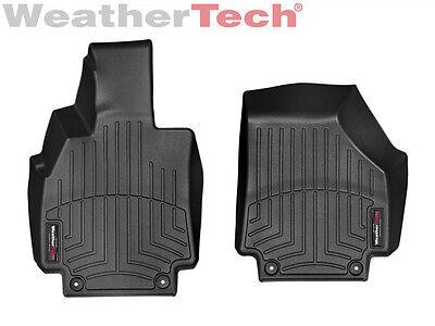 WeatherTech Floor Mats FloorLiner for Audi R8 - 2008-2015 - 1st Row - Black