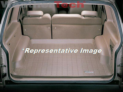 Ford Bronco Cargo Liner - WeatherTech Cargo Liner Trunk Mat - Ford Bronco - 1980-1996 - Tan