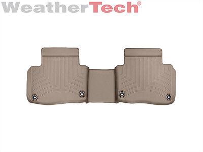 WeatherTech Floor Mats FloorLiner for Acura RLX - 2014-2019 - 2nd Row - Tan