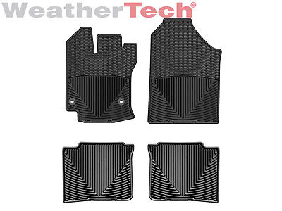 WeatherTech All Weather Floor Mats for Toyota Venza   2013 2015   Black