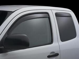 Toyota 2015 Tacoma Side Window Deflectors WeatherTech
