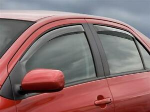 WeatherTech 4pc Toyota Yaris Side Window Deflectors 2007 - 2011