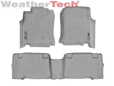 Weathertech Floor Mats Floorliner For Toyota 4Runner   2003 2009   Grey