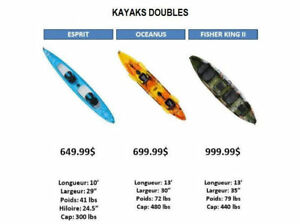 kayak double en promotion!!!