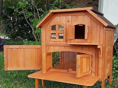 Trixie Pet Products Wooden Outdoor Cat Home – Closeout! Massive Savings! was$250