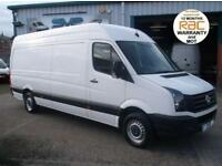 2013 13 VW CRAFTER 2.0 CR35 TDI 109BHP LWB HIGH ROOF 4.2 METER LOAD AREA @ SVS