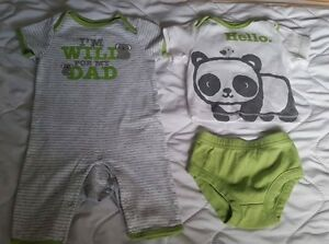 Two 0-3 Month Size Outfits in Brand New Condition - $12 for both