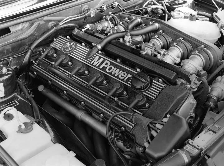1986 BMW M5 Engine Photo Poster zu2843-4YRVYP
