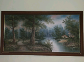 Irene Cafieri signed and framed oil painting (offers accepted)