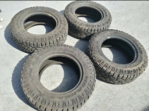 Set of 10 PLY Goodyear Wrangler 265 65 17 Tires NEXT TO NEW