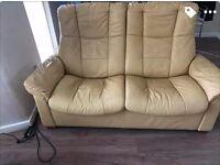 Free 2 seater Stressless sofa
