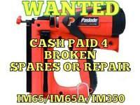 Paslode nail gun wanted