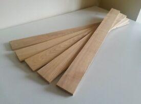 Ash wood boards (10mm x 60mm x 700 mm)