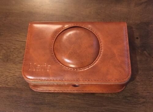 Katia PU Leather Snap Instant Camera Case With Logic Pocket,