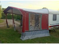 Caravan Awning - Trio Sport Mexico - Size 875 - Complete with Annex