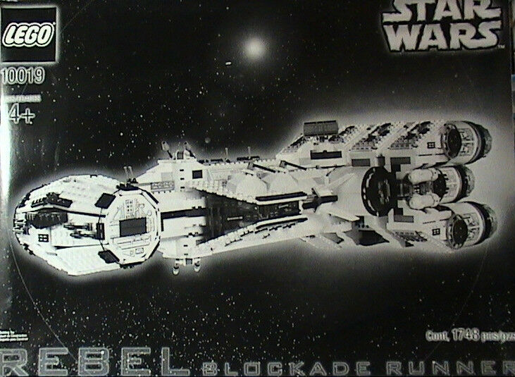 New Lego Star Wars 10019 Rebel Blockade Runner Ucs Misb