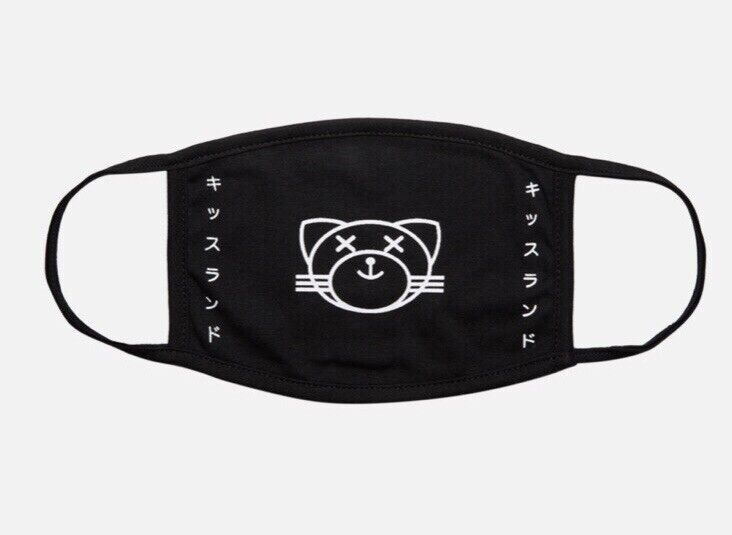 THE WEEKND OXCY KISSLAND FACE MASK CLASSIC LOGO CLOTH COVERING