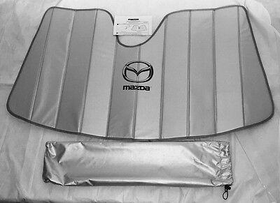 2014 2015 2016 2017 Mazda 3 4dr 5dr windshield sunscreen new oem !!!!