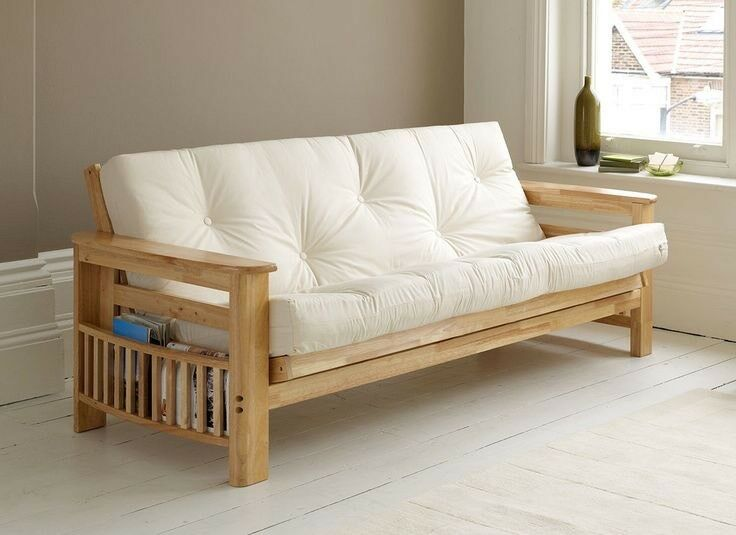 Vegas futon arm sofa bed