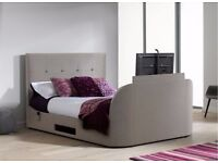 Dreams Evolution T1 King Size Bed and Mattress with 32inch TV