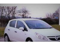 Vauxhall Corsa 1.2Diesel 55k Mileage White Color 5 Door ECOFLEX! Good Condition
