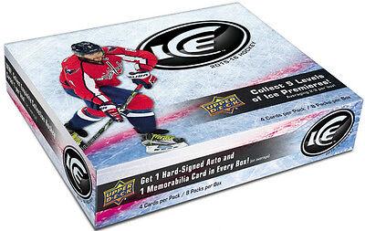 2015/16 Upper Deck Ice Hockey Hobby Box + BONUS UPPER DECK HOCKEY PACK