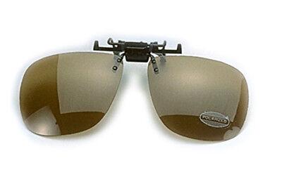Polarisations-Brillen-Aufstecker UV400 Angelbrille Clip auf Brille Behr TRENDEX