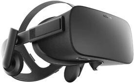 Oculus Rift and Two Oculus Sensors