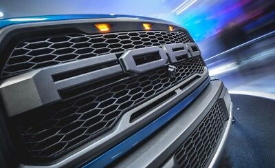 2004-2008 Ford F150 Raptor SVT Style Grille FORD Letters Included