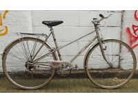 Vintage ladies bike RALEIGH frame 20in serviced & warranty - welcome for test ride & cup of tea
