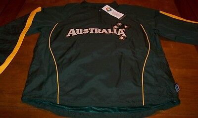 AUSTRALIA WORLD BASEBALL CLASSIC STITCHED JACKET MEDIUM NEW w/ TAG