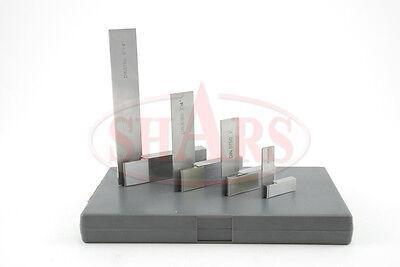Shars 4 Steel Hardened Square Set Ground Machinist Tool New