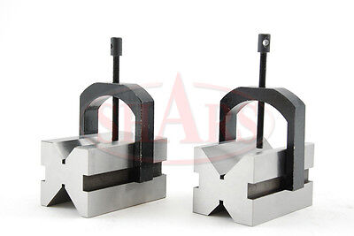 "2-3/8"" x 2-3/4"" x 2"" Multi-use V-Block and Clamp Set on Rummage"
