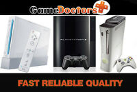 GameDoctors.ca -Xbox PS3 Wii PC Repair +Low Prices +FAST