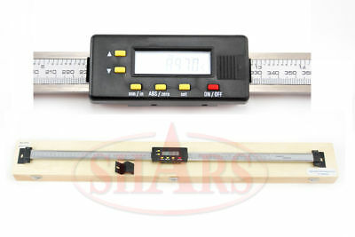 Shars 24 Horz Digital Dro Scale Ip54 For Bridgeport Mill Lathe New Save 47.45