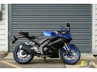 Yamaha YZF R125 Motorbike 2019 in Blue Excellent Condition.