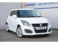 2015 Suzuki Swift 1.6 Sport 3dr (+Nav) Petrol white Manual
