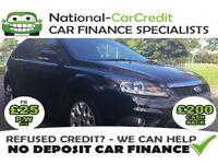 Ford Focus 1.8 ZETEC Good / Bad Credit Car Finance (black) 2008