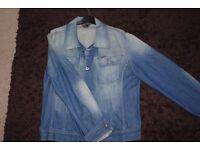 Men's diesel denim jacket