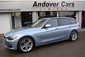 BMW 3 SERIES 2.0 316d SPORT TOURING (blue) 2013