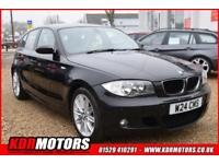 2008 BMW 118d M SPORT - 2L DIESEL MANUAL - PRIVATE PLATE - £30 ROAD TAX
