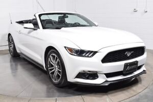 2016 Ford Mustang PREMIUM CONVERTIBLE ECOBOOST CUIR MAGS