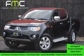 2007 Mitsubishi L200 Elegance 2.5DI-D 4WD Double Cab Pickup Auto **NO VAT**