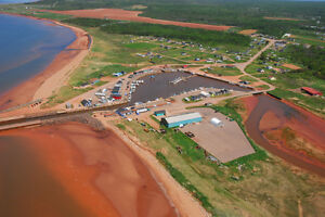 Large Oceanfront Sub-Divided and Approved Miminegash PEI Canada