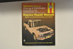 DATSUN NISSAN Pick up and Pathfinder repair manual 1980- 1997