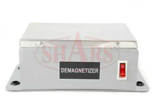 PLATE DEMAGNETIZER 6-1/2 X 4-1/2 TOOL DIES CUTTERS NEW