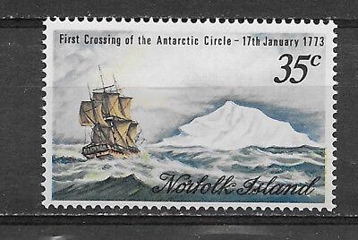 NORFOLK ISLAND , 1973 , 200TH ANNIV./COOK , STAMP ,  PERF,  MNH