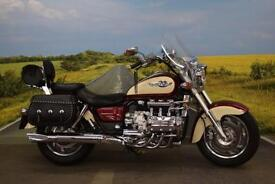 Honda F6C Valkyrie **Leather Panniers, Touring Screen, Back Rest**
